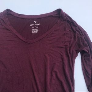 American Eagle Soft and Sexy V-Neck